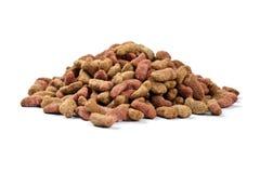 Nourriture sèche par chat image stock