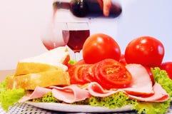 Nourriture saine image stock
