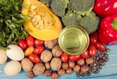 Nourriture saine, concept suivant un régime E photos libres de droits