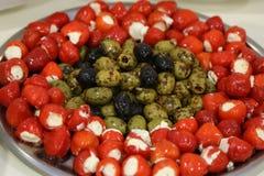 Nourriture saine délicieuse Photographie stock libre de droits