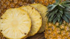 Nourriture saine d'ananas de fruit frais images libres de droits