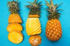 Nourriture saine d'ananas de fruit frais photo stock