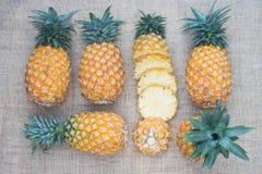Nourriture saine d'ananas de fruit frais photographie stock