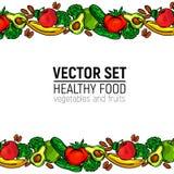 Nourriture saine de légumes Images libres de droits