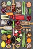 Nourriture saine de nutrition images stock