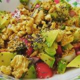 Nourriture saine de Vegan Image libre de droits