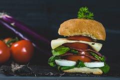 Nourriture saine et colorée de saison Photo stock