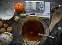 Nourriture saine et naturelle pour la forme physique photographie stock libre de droits