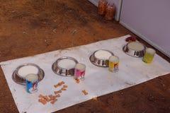Nourriture saine et savoureuse pour des chiens Photos stock