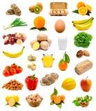 Nourriture saine, fruits et légumes Images libres de droits