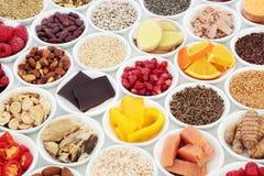 Nourriture saine pour des bonnes santés Photo stock