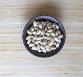 Nourriture saine pour la fin de fond d'image vers le haut des pistaches Texture sur la pistache d'?crous de vue sup?rieure sur l' images stock