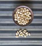 Nourriture saine pour la fin de fond d'image vers le haut des pistaches Texture sur la pistache d'?crous de vue sup?rieure sur l' photo libre de droits