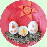 Nourriture savoureuse et saine pour des enfants Image stock