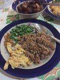 Nourriture spéciale thaïlandaise Images libres de droits