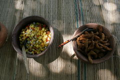 Nourriture sri-lankaise Photo libre de droits