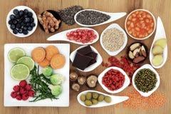 Nourriture superbe saine Photographie stock