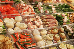 Nourriture surgelée de restaurant photos stock