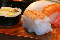 Nourriture : sushi Photo stock