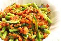 Nourriture thaïe épicée Photo stock