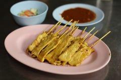 Nourriture thaïe, bifteck de porc Image stock