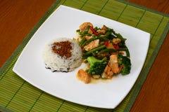 Nourriture thaïe chaude Photos libres de droits