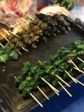 Nourriture thaïe de rue Photos libres de droits