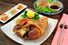 Nourriture thaïe et chinoise Images libres de droits