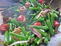 Nourriture thaïe - friture #6 de Stir Photographie stock