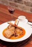 Nourriture thaïlandaise de fusion, massaman d'agneau Photo libre de droits