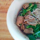 Nourriture thaïlandaise de nouille Images libres de droits