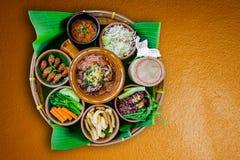 Nourriture thaïlandaise du nord de tradition photo libre de droits