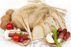 Nourriture traditionnelle Images libres de droits