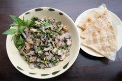 Nourriture traditionnelle asiatique de végétarien de ragoût Photo libre de droits