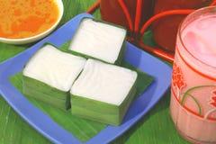 Nourriture traditionnelle de la Malaisie Image libre de droits