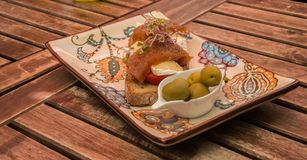 Nourriture traditionnelle de Majorque Image stock