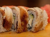 Nourriture traditionnelle du Japon - roulis Photographie stock libre de droits