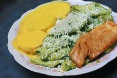 Nourriture traditionnelle péruvienne Photographie stock libre de droits