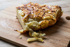 Nourriture turque Makarna Boregi/macaronis Timbale Photo stock