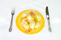 Nourriture ukrainienne Photo libre de droits