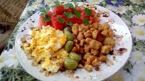 Nourriture végétarienne photo stock