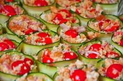 Nourriture végétarienne italienne   Image libre de droits