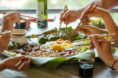 Nourriture vietnamienne a Photographie stock