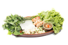 Nourriture vietnamienne due de Nham Image stock