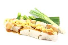 Nourriture vietnamienne, roulis de salade, roulis de source frais Images libres de droits