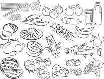 Nourritures Photographie stock libre de droits