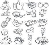 Nourritures Images stock