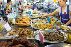 Nourritures cuites Photographie stock libre de droits