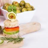 Nourritures de doigt Photographie stock libre de droits