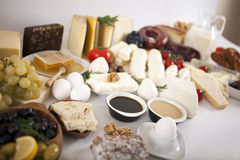 Nourritures de petit déjeuner Photographie stock